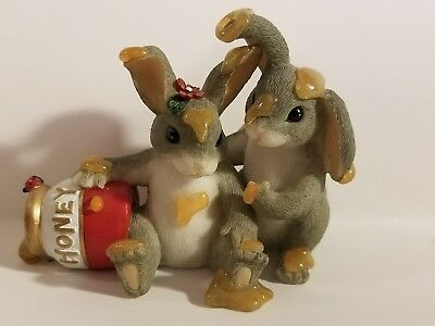 Charming Tails Honey Bunnies Excellent Condition 84/112