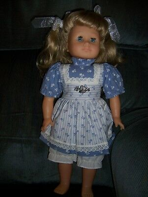 """Sale HANS GOTZ PUPPE DOLL 17"""" Doll with Clothes Gotz Modell Blonde, Blue Eyes"""