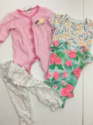 Mixed Lot Girl infant One Piece Clothing Pre-owned