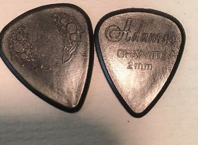 Dunlop Guitar Picks  Adamas 12 Pack Graphite 2.0mm Jerry Garcia