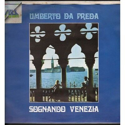 Umberto Of Prey Lp Vinyl Dreaming Venice / Ricordi ORL8122 New