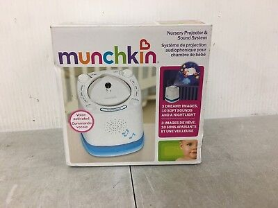 Munchkin Nursery Projector and Sound System Baby Soother (A) #1