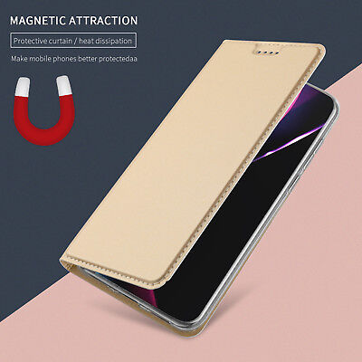 For Apple iPhone Xs Max Xr 8 7 6S Plus Magnetic Leather Case Flip Wallet Cover