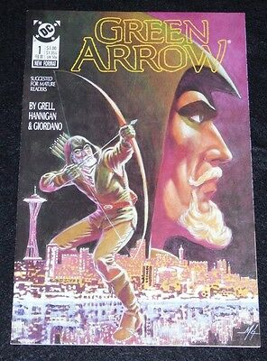 Green Arrow lot:  Longbow Hunters # 1, Green Arrow # 1 (1987)