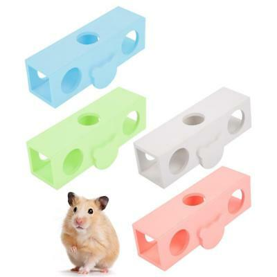 Hamster Cage Seesaw Toy Pet Wooden Home Small Animal Rat Mice House Play Swing