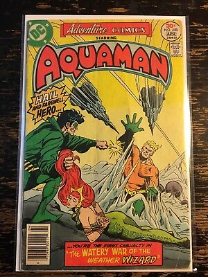 ADVENTURE COMICS Starring AQUAMAN #450 (DC 1977) Combine Shipping Discount