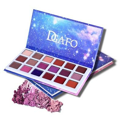 18 Colors Shimmer Eyeshadow Palette Cosmetic Glitter Matte Eye Shadow Make Up