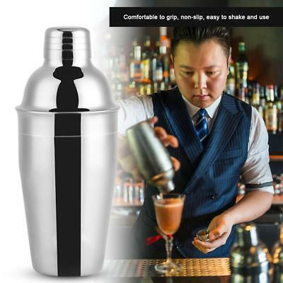 550ml Stainless Steel Cocktail Shaker Mixer Drink Bartender Martin Tool Bar Kit