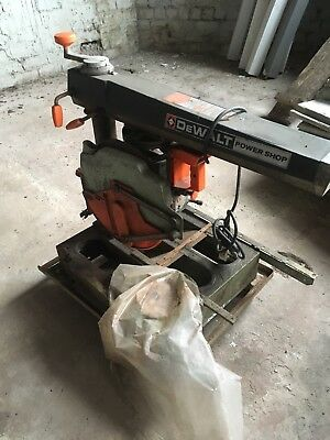 Dewalt Power Shop 125 Radial Arm Saw