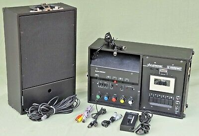 Imatronic SX Compact Digital Dissolve Tape Deck With Remote and Cables
