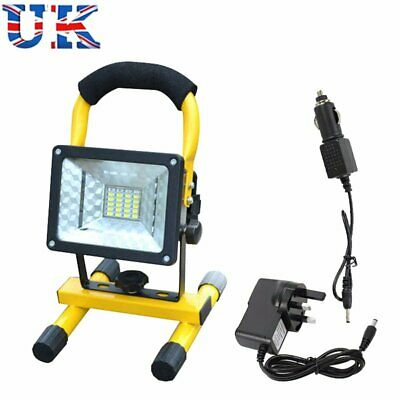 30W COB LED Rechargeable Rechargeable Floodlight LED Security Outdoor Work Light