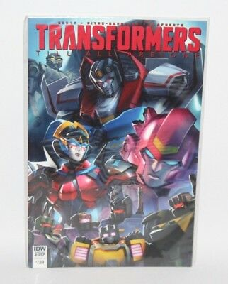 Transformers: Till All Are One - Annual 2017, Cover A - IDW