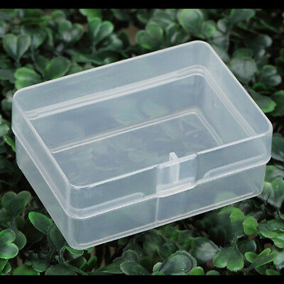 5X Clear Plastic Transparent Storage Box Collection Container Case Part VQ