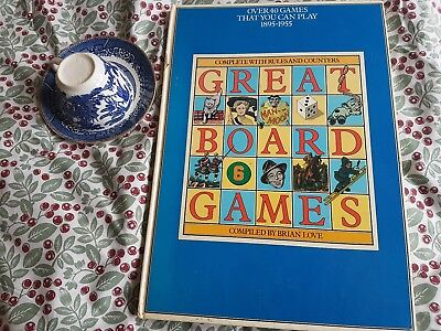 Great Board Games 1895-1955 by Brian Love