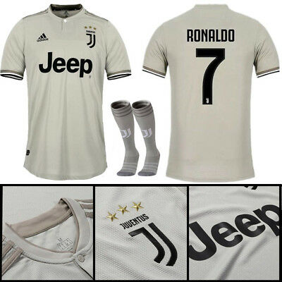 255d6935d54 18 19 Juventus Football Jerseys Short Sleeve Kit for 3-14Y Kids Suit+