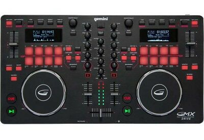 Gemini GMX-Drive - DJ CD-Player Midi Controller Mixer Konsole USB Media Player