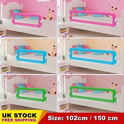 Toddler Bed Guards Rail Safety Infant Kid Protection Bedrail 102cm 150cm Durable