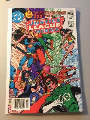 Justice League of America #200 DC Comics 1982 Wonder Woman Newstand Edition