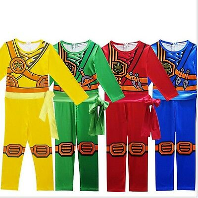 Kids Halloween Costume Cosplay Party Boys Fancy Dress Playsuit Outfits Jumpsuits