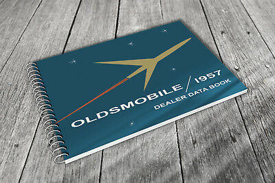 1957 Oldsmobile Dealer Data Book / Holiday, Fiesta, Coupe / Options & Prices