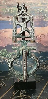 VIKING LARGE SILVER BUCKLE AND PLATE 9TH century AD
