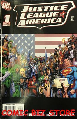 Justice League Of America #1 (2006) 1St Printing Bagged & Boarded Dc