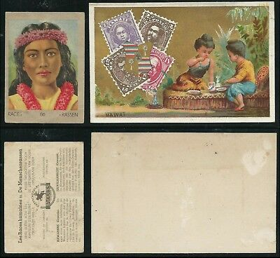 B706 Hawaii - 2 Early 1900's Advertising Cards