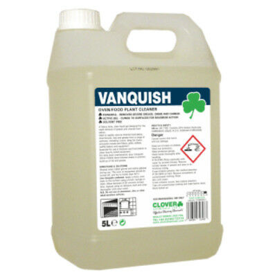 Vanquish Heavy Duty Oven Cleaner 5L  by Clover  304 5L