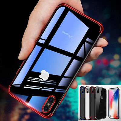 For Apple iPhone Xs/Xr/ Xs MAX/X Luxury Ultra Slim Shockproof Bumper Case Cover