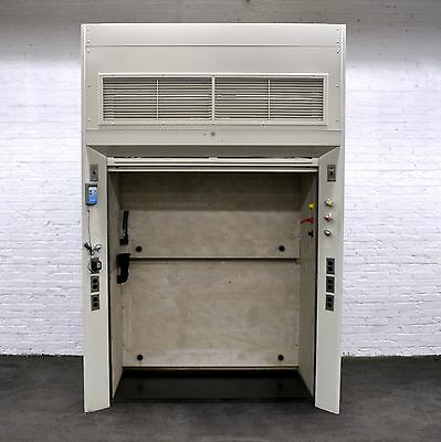 Walk - In  5' Chemical Laboratory   Fume Hood with Dual Glass Sash -