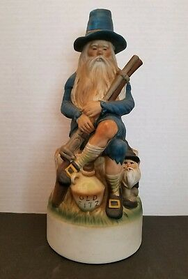 STITZEL WELLER OLD FITZGERALD Genuine Talisman Porcelain OLD FITZ Decanter RARE