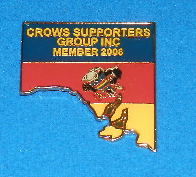 2008 Adelaide Crows Supporters Group Members Badge
