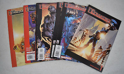 Ultimates 1st Series Marvel 9 Lot 1 2 3 4 5 6 7 9 10 Captain America Avengers