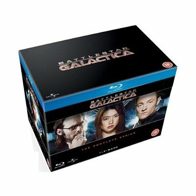 Blu-ray - Battlestar Galactica - Complete Series - Universal Pictures - Edward J