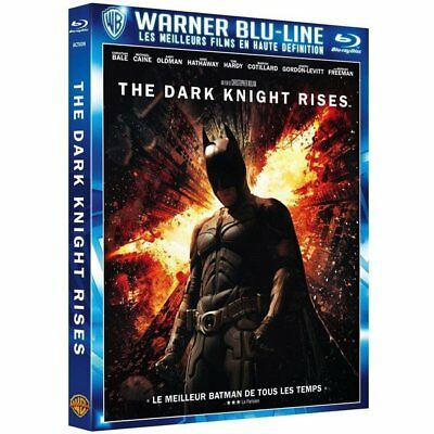 Blu-ray - Batman - The Dark Knight Rises - Warner Home Vidéo France - Christian