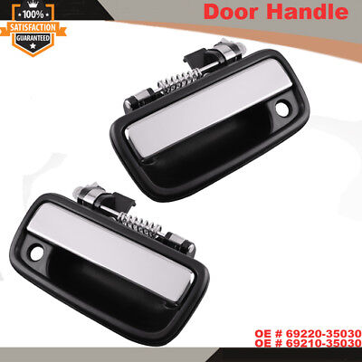 Pair of Front Exterior Chrome Door Handle For 1995-2004 Toyota Tacoma AT
