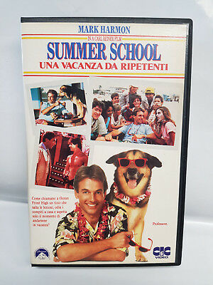 Summer School - Una Vacanza Da Ripetenti (1984) Vhs - Mark Harmon