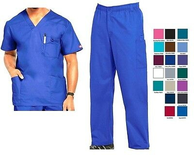 Dickies Mens Scrubs EDS Signature Sets Top 81906 Pants 81006 All Colors All Size