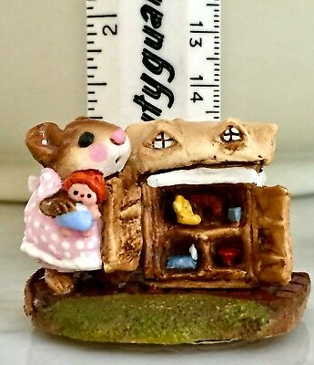 WEE FOREST FOLK M-102 MOUSEY's DOLL HOUSE Original Box NEW  RETIRED HARD TO FIND