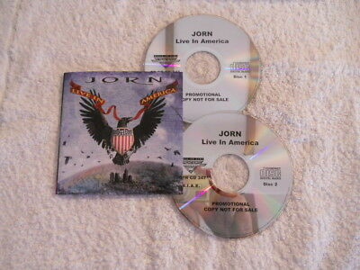"Jorn ""Live in America"" 2007 2cd Frontiers Rec. Promotional NEW"