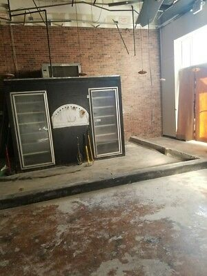 walk in cooler with condensor