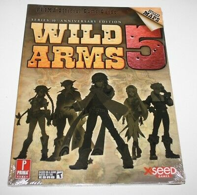 ++ PRIMA official game guide WILD ARMS 5 series 10th anniversary edition NEUF ++