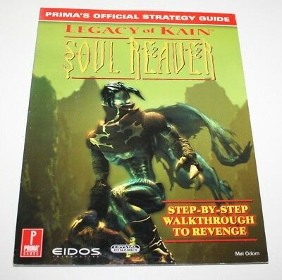 ++ PRIMA'S official strategy guide LEGACY OF KAIN SOUL REAVER playstation ++
