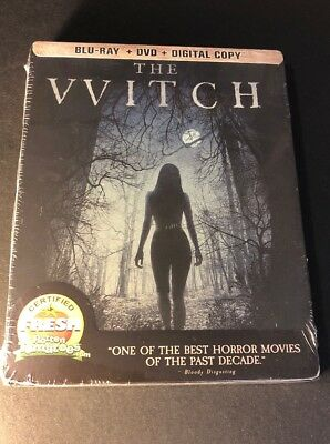 The Witch [ Limited Edition STEELBOOK ] (Blu-ray + DVD Combo) NEW