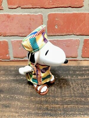 Snoopy Figure Pvc African Clothes Rare