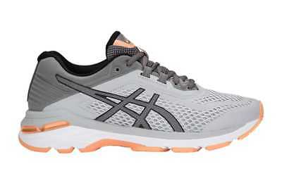 ASICS Women's GT-2000 6 Running Shoe (Mid Grey/Carbon Size 9.5)