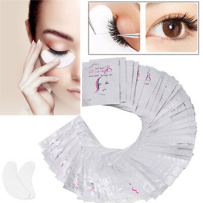 2/10/100/200 Extension de Cils Patches Grafted Hydrogel Under Eye Gel Pad Tape