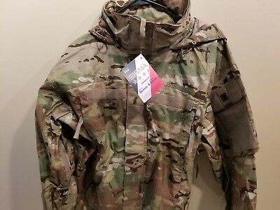 Multicam Army Issue Level 5 Soft Shell Jacket Flame Resistant Large Regular Nwt