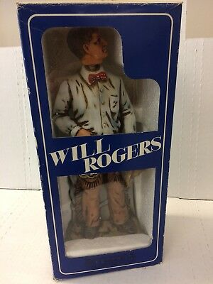 Will Rogers Bourban Bottle
