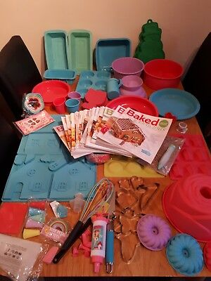 Baked And Delicious Baking Magazine Contents Bundle Silicone